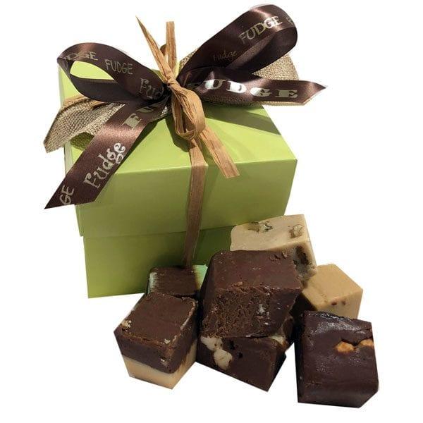 Fudge Sampler Gift Box-Sage