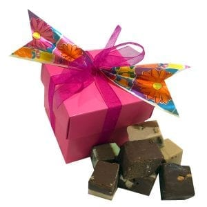 Fudge Sampler Gift Box-Pink