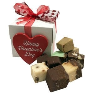 Valentine's Day Fudge Sampler